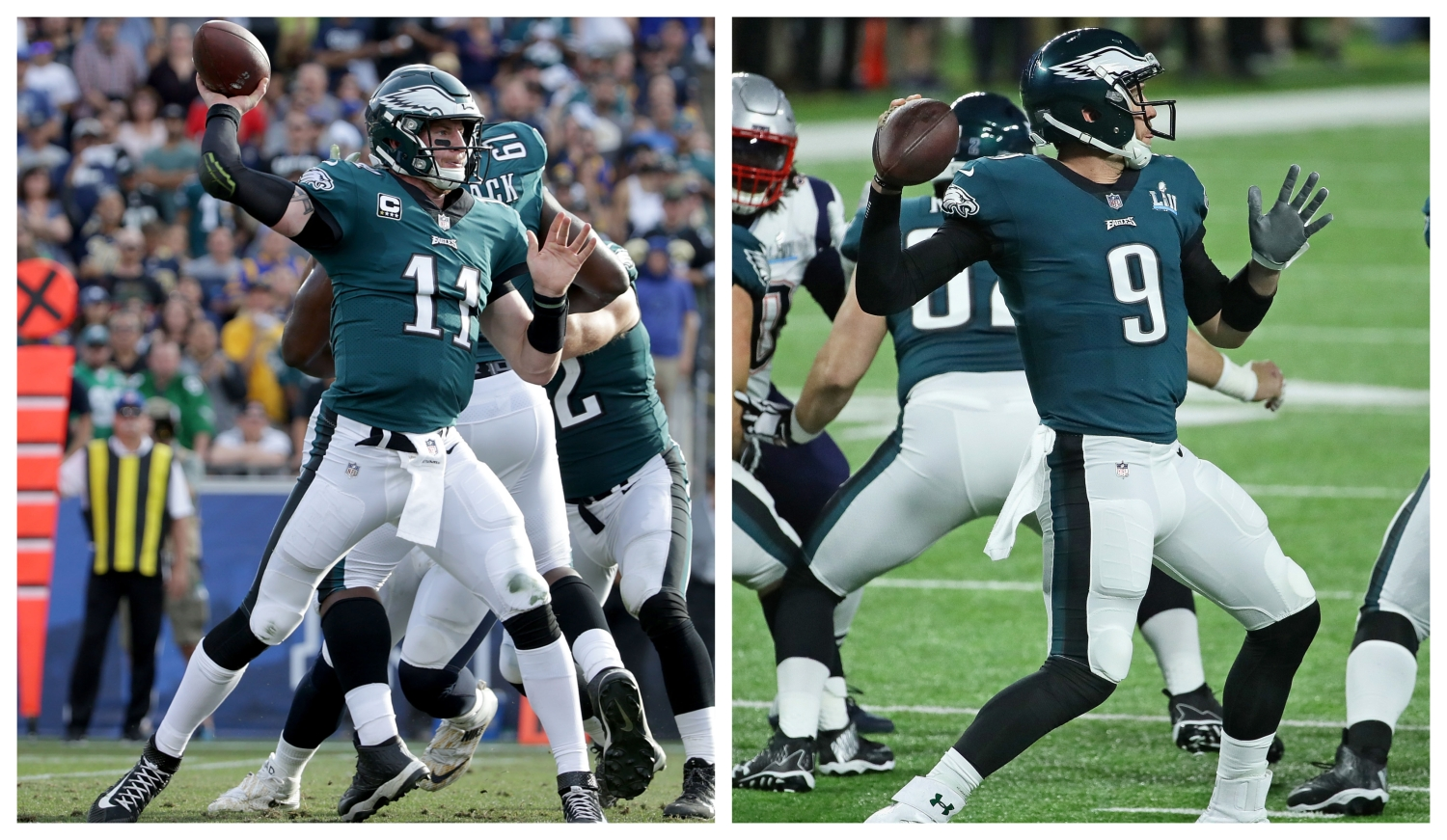 Nfl Analyst Lists Carson Wentz Nick Foles As Top 3 Nfc East Qbs Cbs Philly