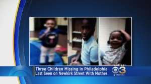 Philadelphia Police Search For 3 Missing Children Believed To Be With Mother
