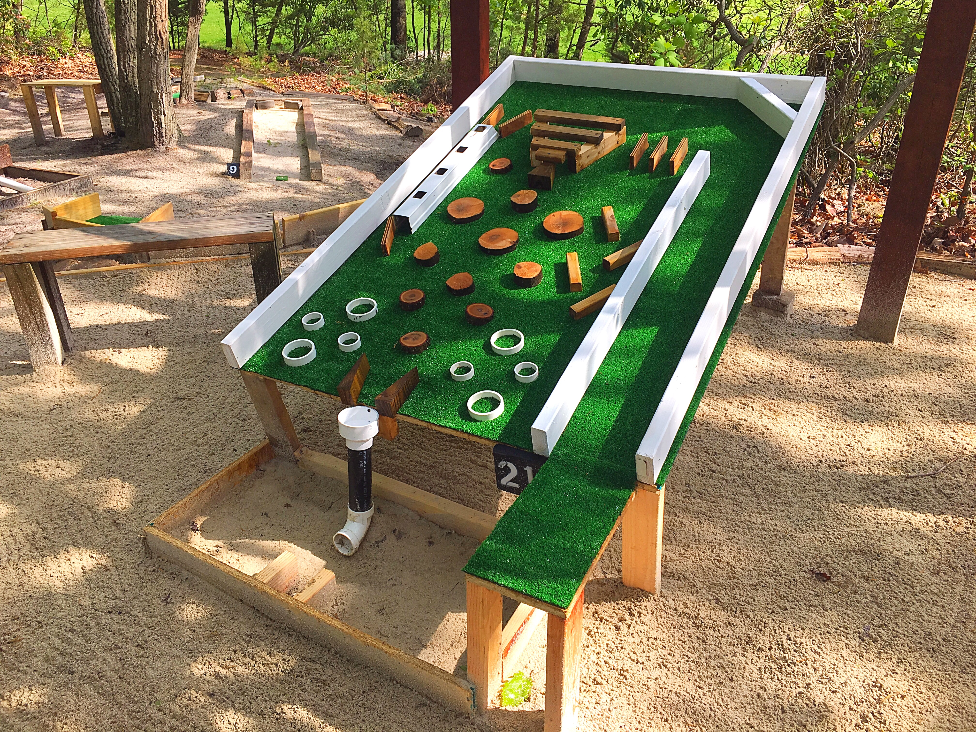 Medford Lakes Teen Builds Mini Golf Course In Backyard