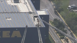 Solar Panel At Conshohocken Ikea Sparks On Fire
