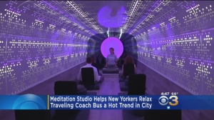 """Inscape"" Sound Proof Bus Offers Meditation On Wheels"