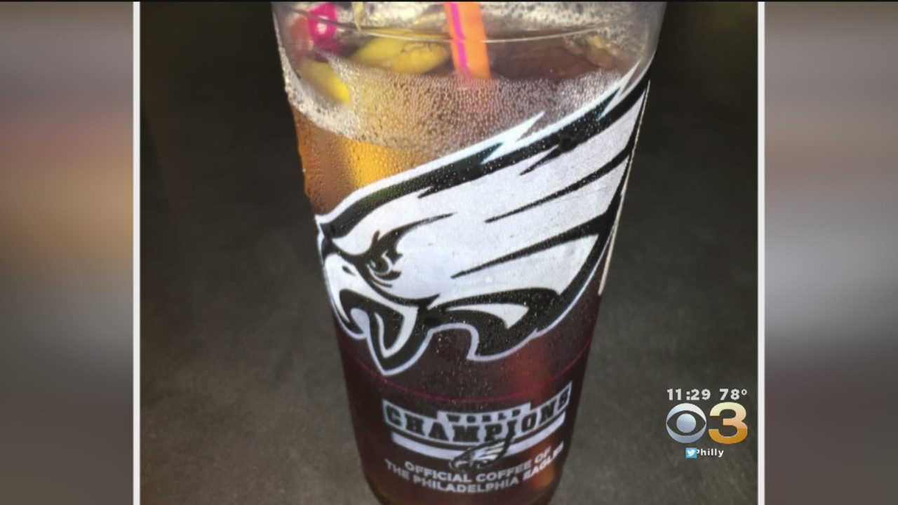 Dunkin' Donuts Accidentally Serves Eagles World Champion Cups In Boston Area