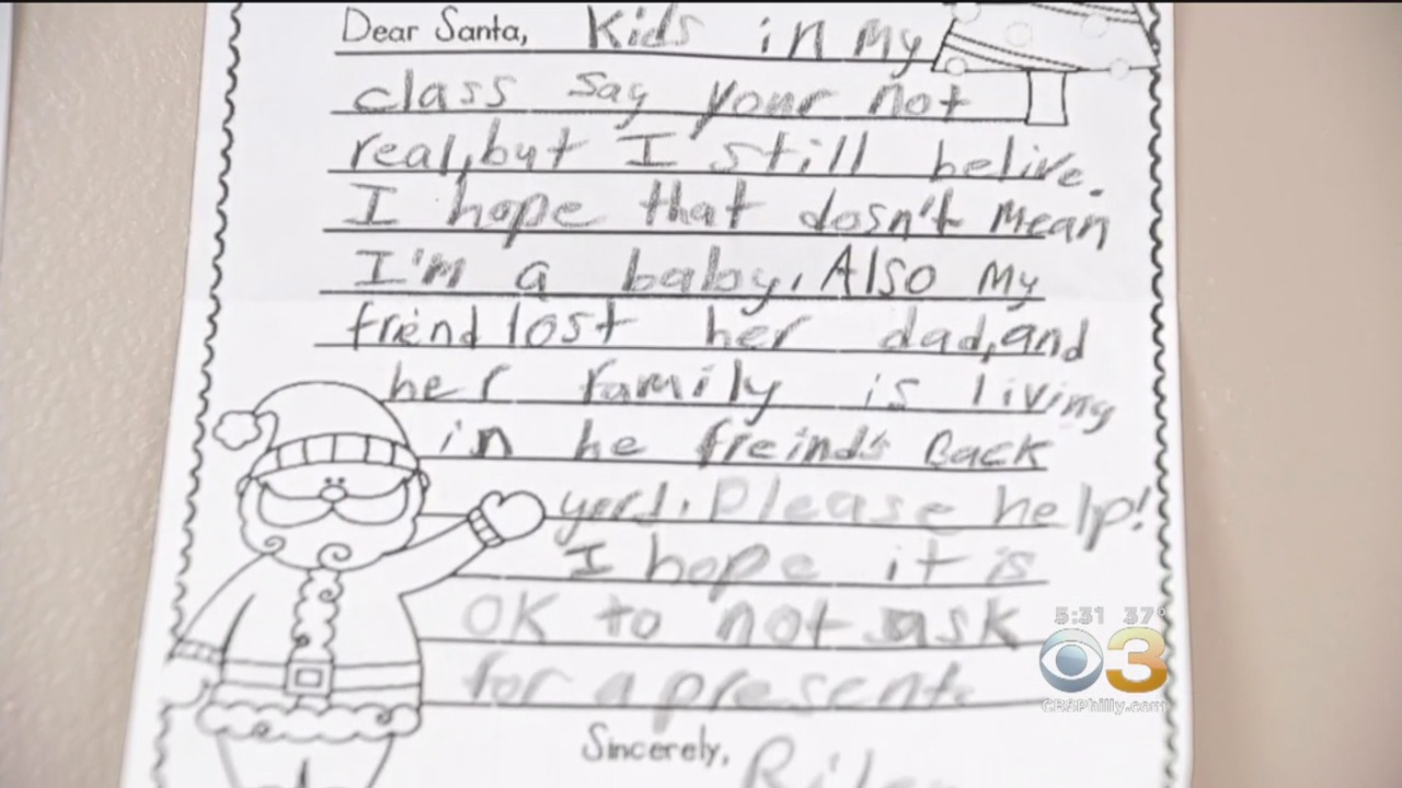 'Please Help': Girl Asks For Santa To Help Her Friend In ...