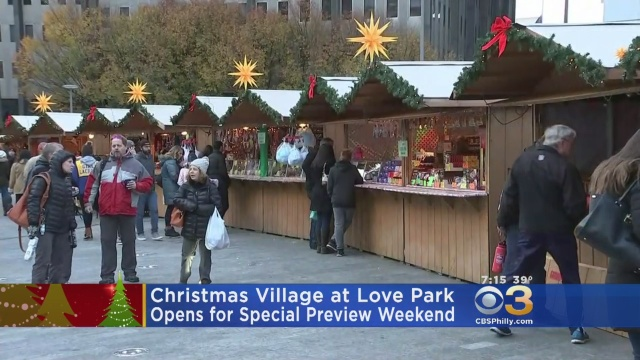 Christmas Village Philly.Christmas Village Cbs Philly