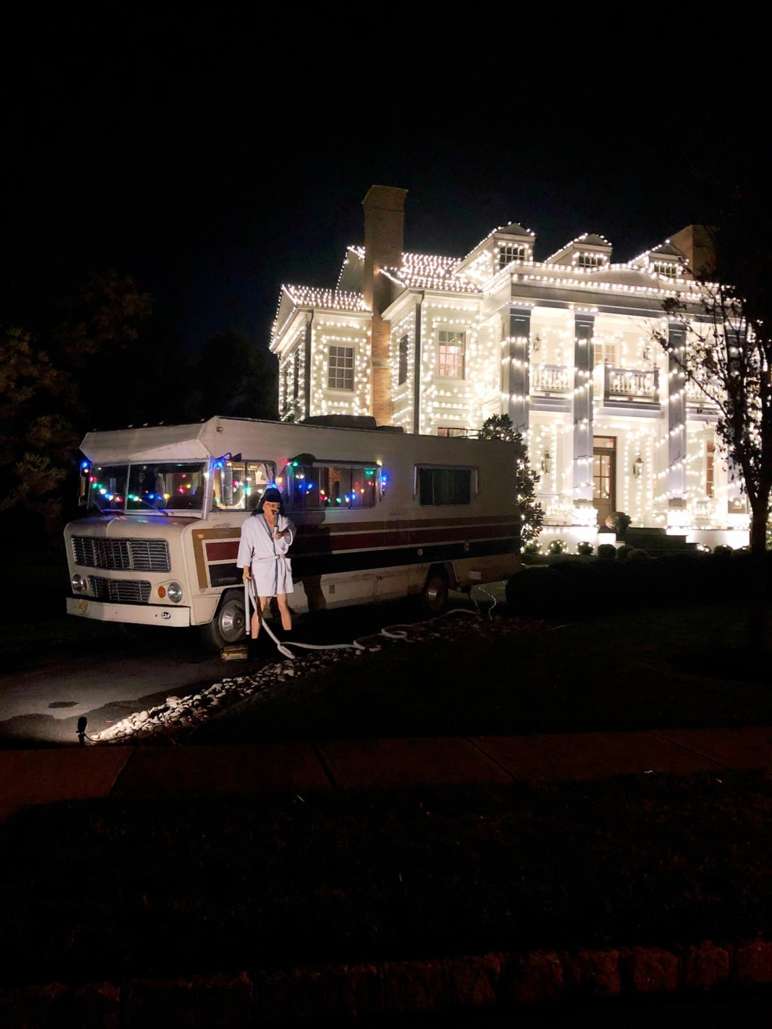 Christmas Vacation House Lights.South Jersey Man Perfectly Recreates Christmas Vacation