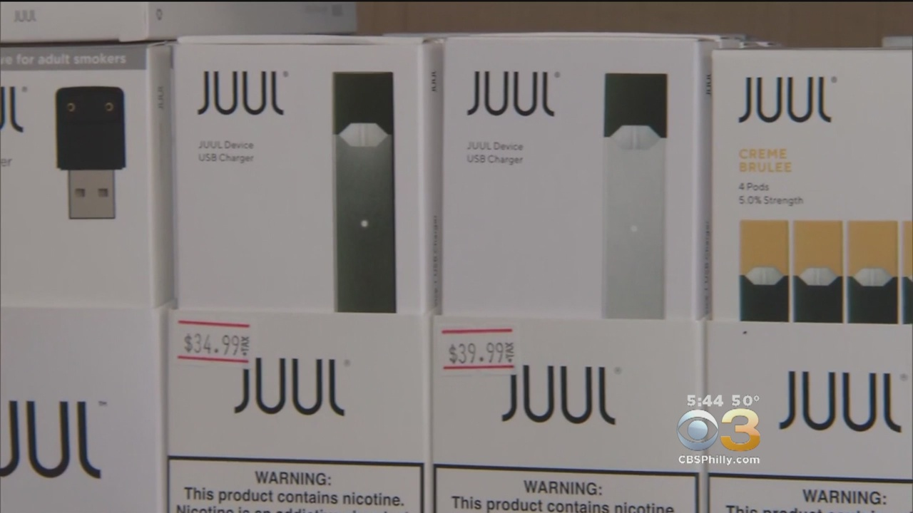 Juul Halts Store Sales Of Some Flavored E-cigarettes – CBS Philly