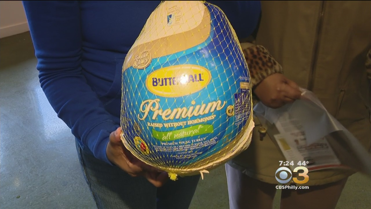 Councilwoman Cindy Bass Host Turkey Giveaway At Nicetown