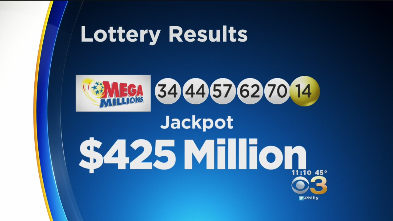 Winning Numbers Drawn For $425 Million Mega Millions Jackpot