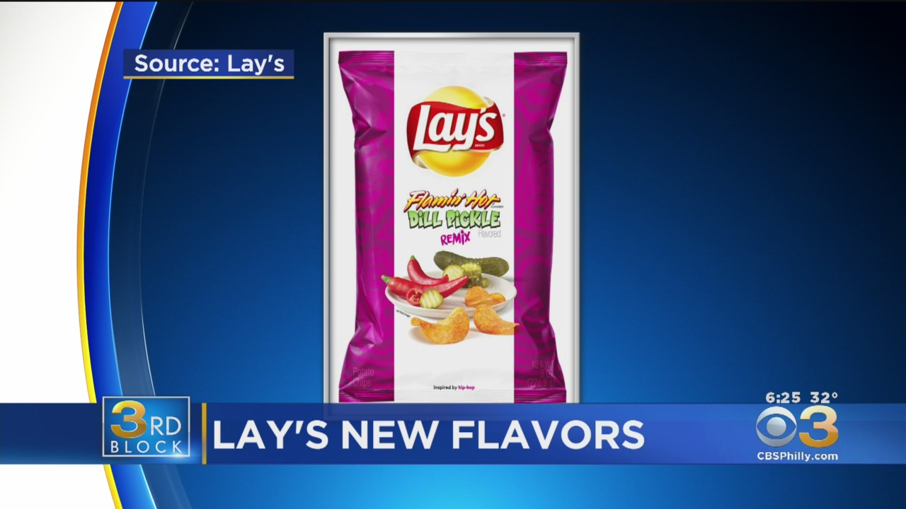 Lay's Is Releasing New Chip Flavors Inspired By Music Genres – CBS