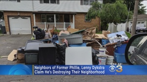 Neighbors Of Former Phillie Lenny Dykstra Claim He Is Destroying New Jersey Neighborhood