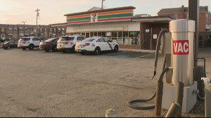 4 Arrested After Robbing Two 7-Eleven Stores, Crashing Getaway Car, Police Say
