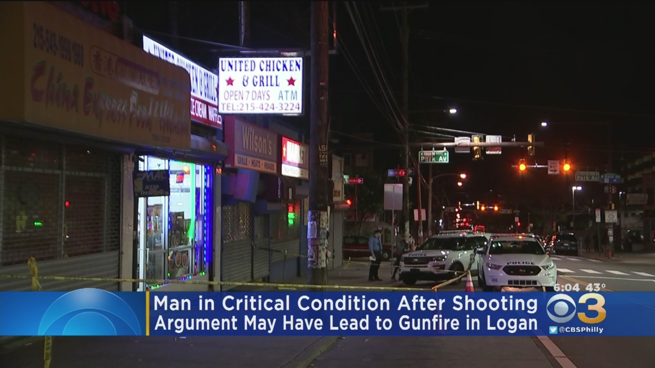 Man Shot Inside Takeout Restaurant In Logan After Possible