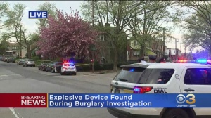 Explosive Device Found During Burglary Investigation In West Oak Lane