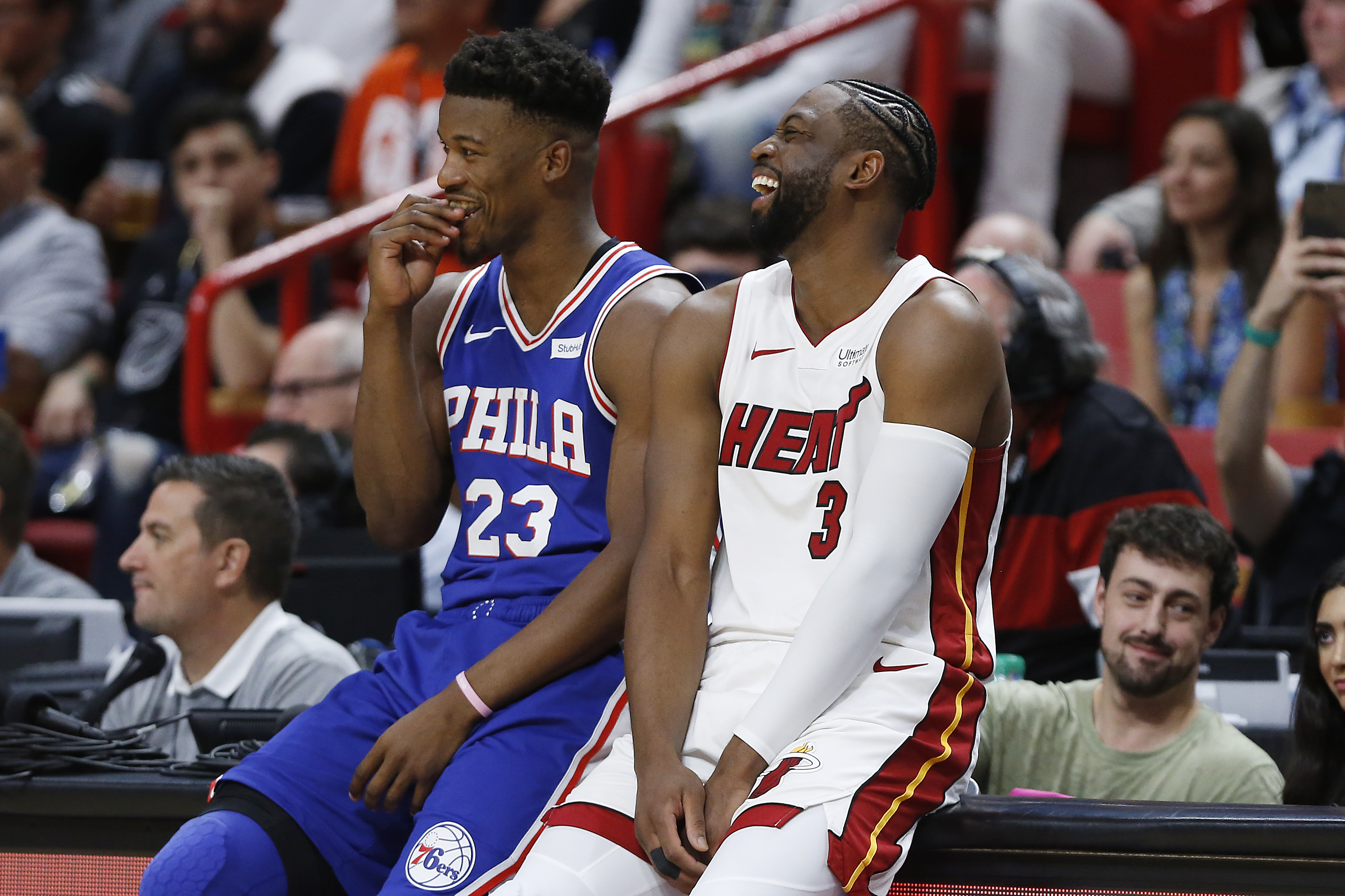 Sixers Fall To Heat As Dwyane Wade Goes Out A Winner In