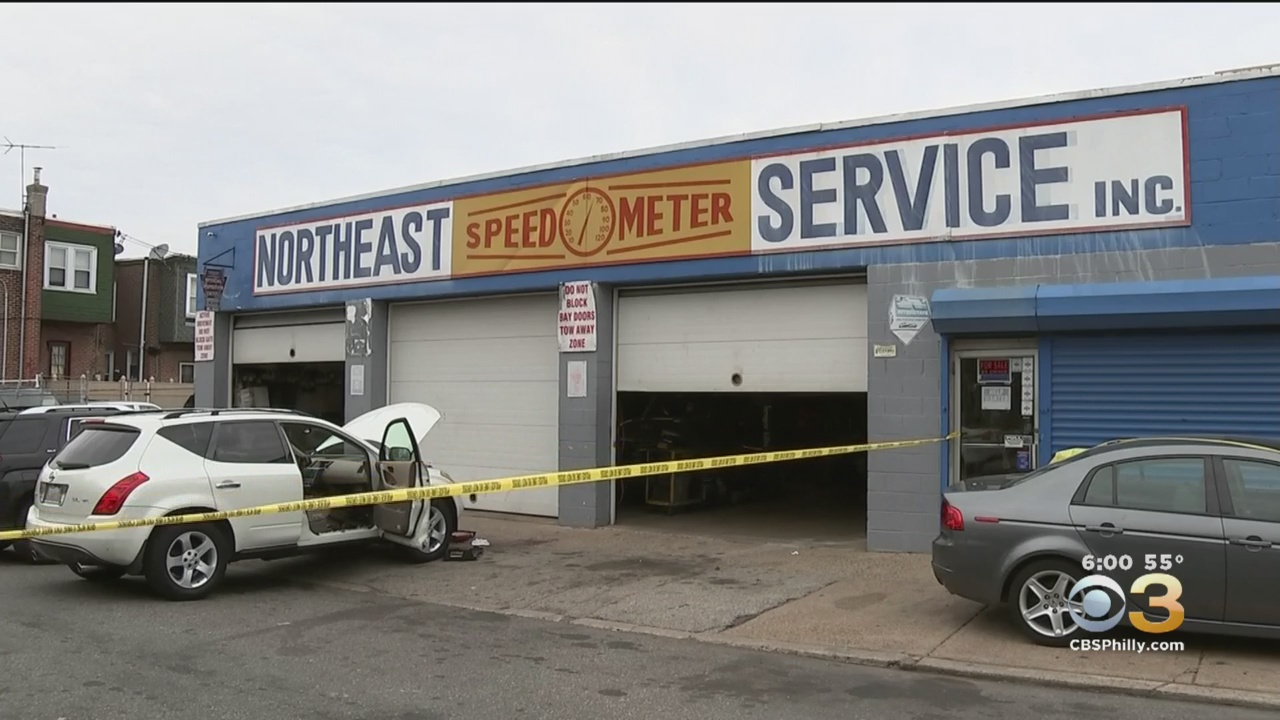 Mechanic Killed By Stray Bullet In Front Of Auto Repair Shop