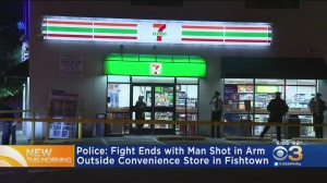 Man Shot Outside 7-Eleven After Fight In Fishtown, Police Say