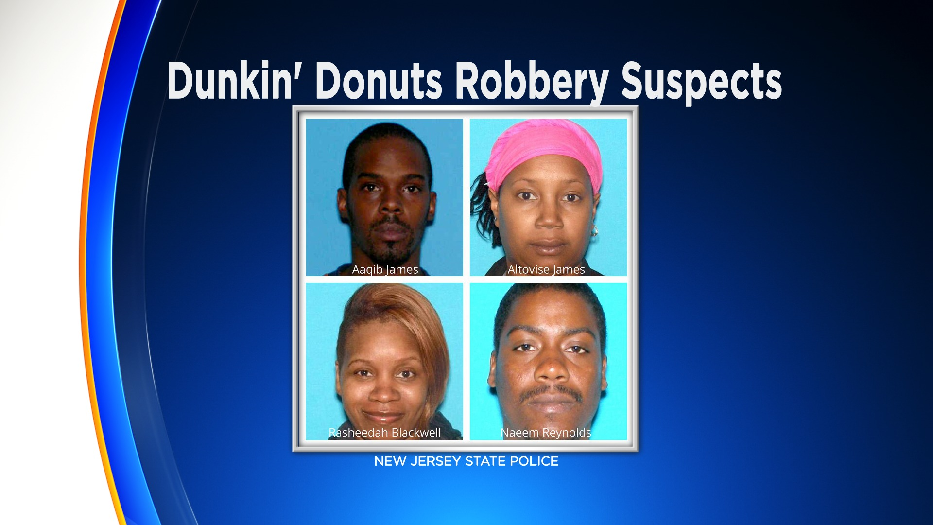 4 People Arrested For String Of Robberies At Dunkin
