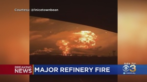 Major Explosion, Fire At Oil Refinery In South Philadelphia