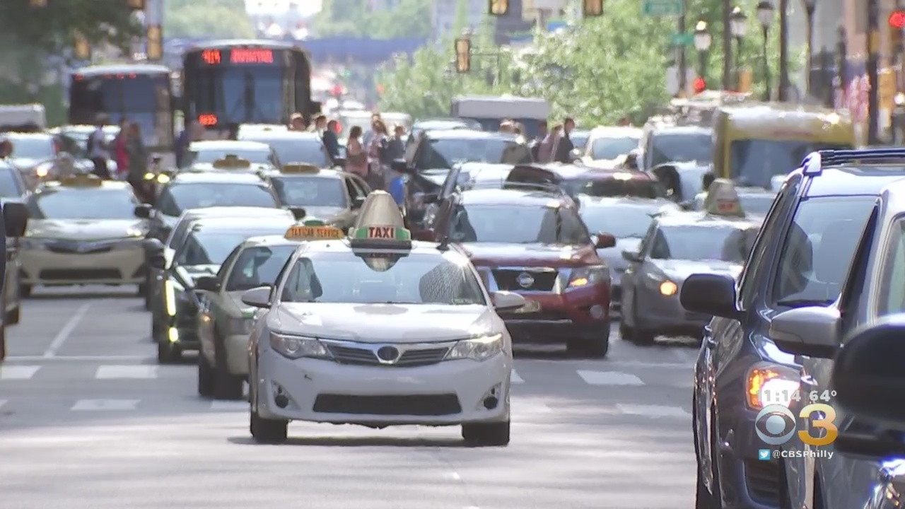 Philadelphia Drivers Spend About 62 Hours In Traffic Every Year, Study Finds