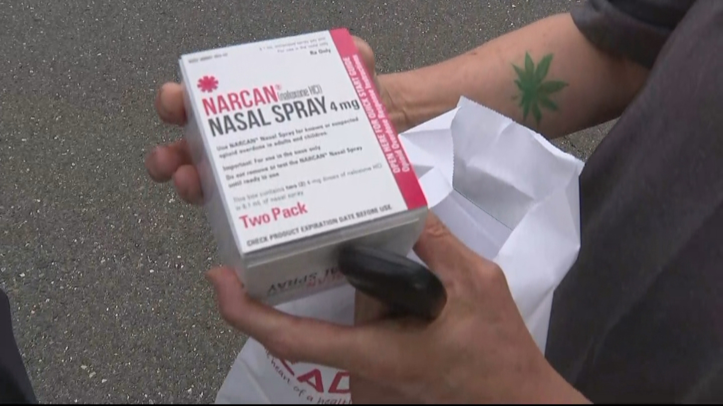 Warrington Police Department Distributing Free Narcan To Residents To Battle Opioid Epidemic