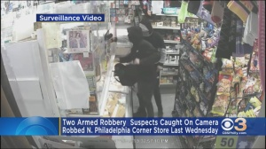 2 Men Wanted In Armed Corner Store Robbery In North Philadelphia