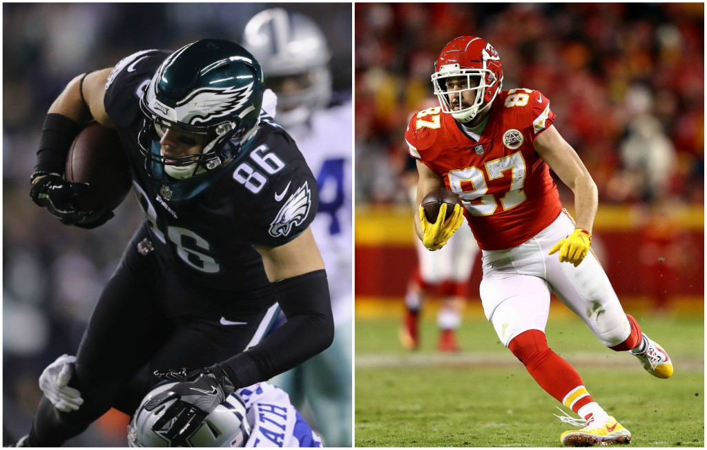 Best Te Fantasy 2019 Fantasy Football 2019: No More Gronk, So Who's The Top TE? Kelce