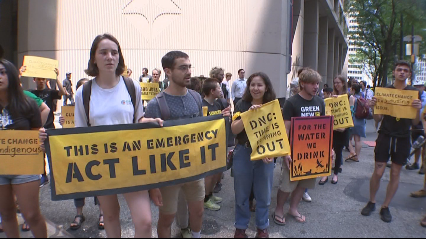 11 People Arrested During Climate Change Protest In Center City, Police Say