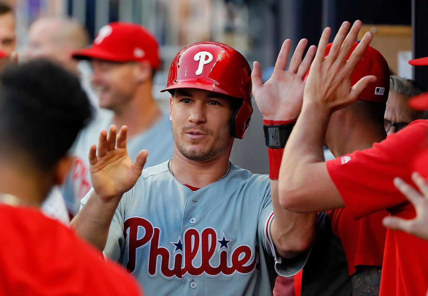 Phillies All-Star Catcher J.T. Realmuto, Wife Celebrate Second Child