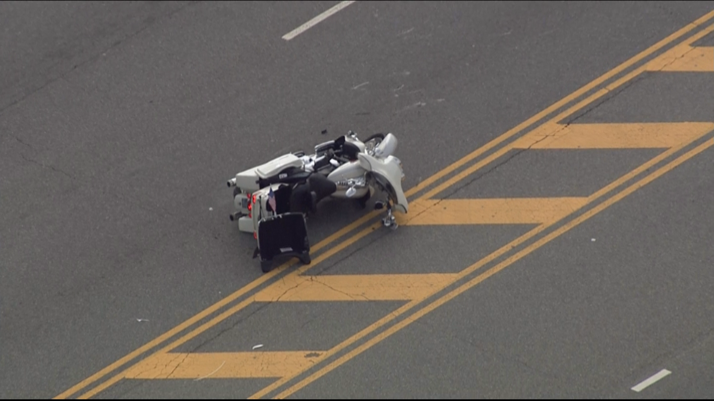 Off-Duty Police Officer Injured In Motorcycle Accident In Bustleton