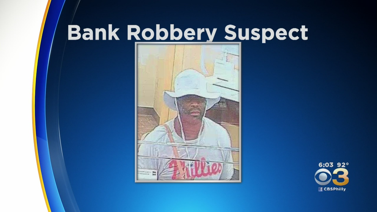 Man Wanted For Two Bank Robberies In Delaware County – CBS