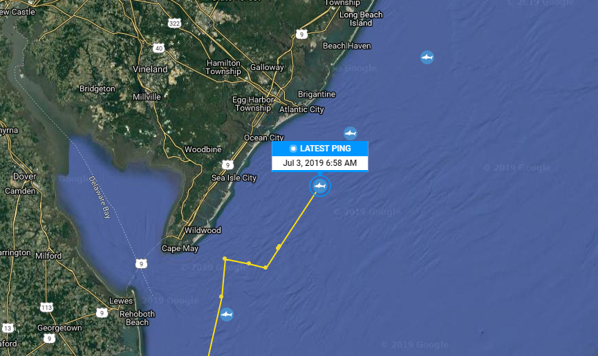 Where Is Miss May Now? How To Track Shark Detected Off The Coast Of