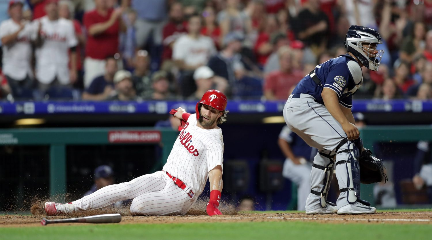 Bryce Harper Homers For Third-Straight Game In Phillies' 8-4 Win Over Padres