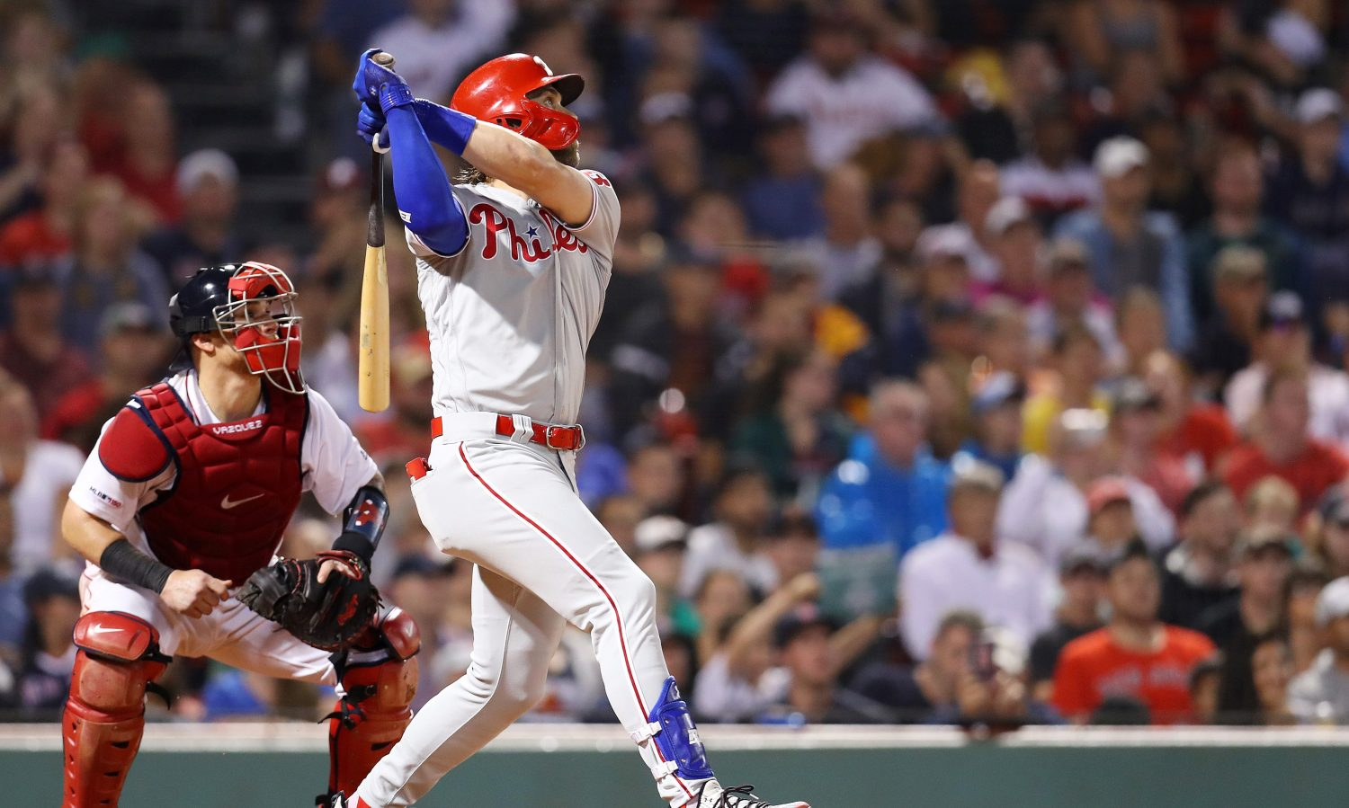 Harper's Homer Carries Phillies To 2-Game Sweep Of Red Sox