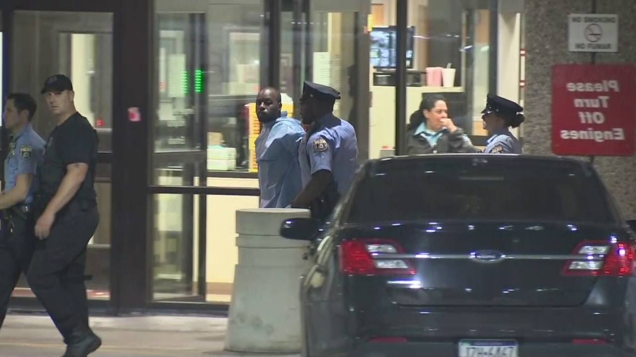 WATCH: Suspect Released From Hospital After Shooting 6