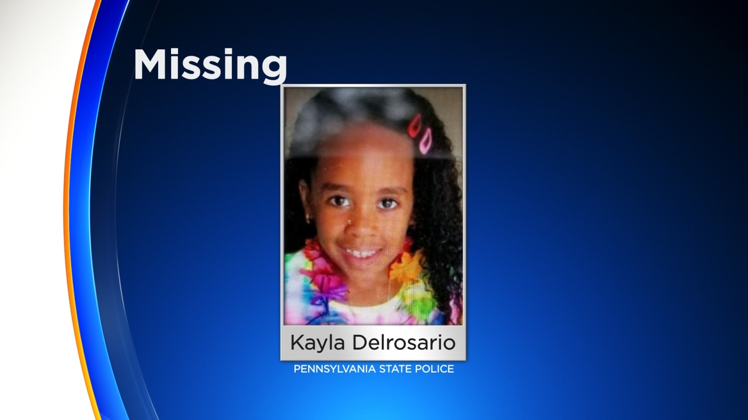 Amber Alert Issued For 7-Year-Old Girl In Pennsylvania