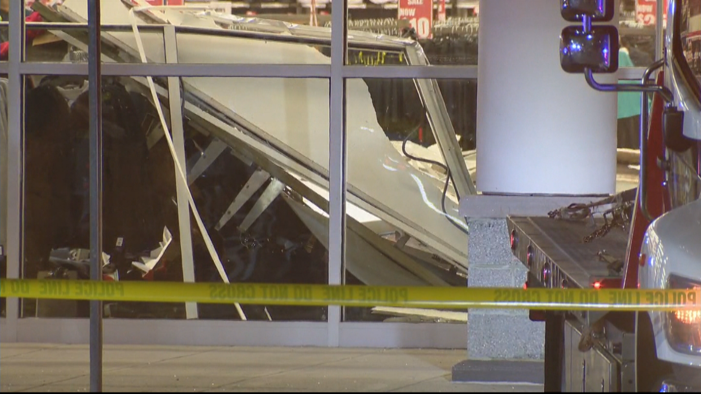 sports shoes 9464a f90f9 1 Person Injured After Vehicle Smashes Through Modell's ...