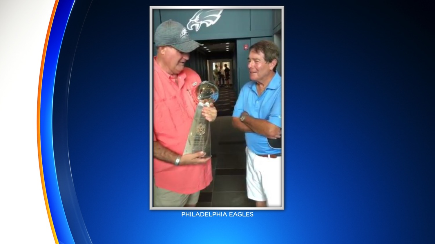 Eagles, Merrill Reese Give Fan Who Was Blinded While Serving In Vietnam Surprise Of Lifetime