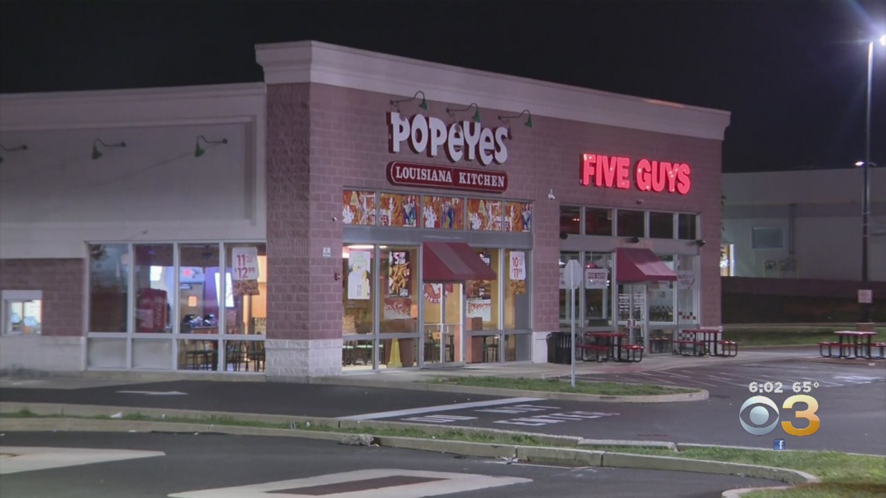 Officer Injured As Police Foil Potential Armed Robbery At Popeyes Restaurant In Northeast Philadelphia, Investigators Say