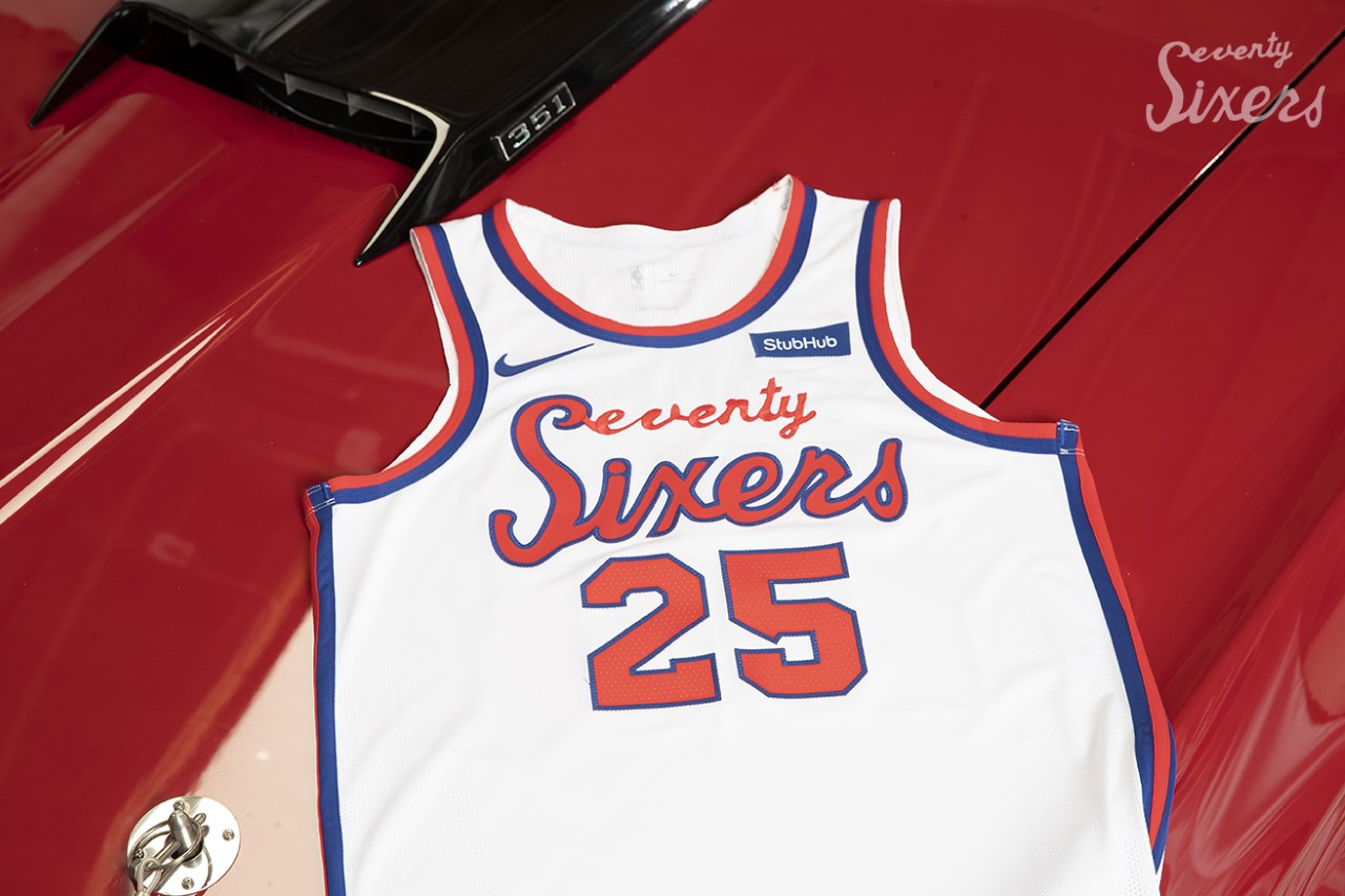 finest selection 7ab9e c2bc5 Sixers Unveil Classic Edition Uniform Inspired By 1970s ...