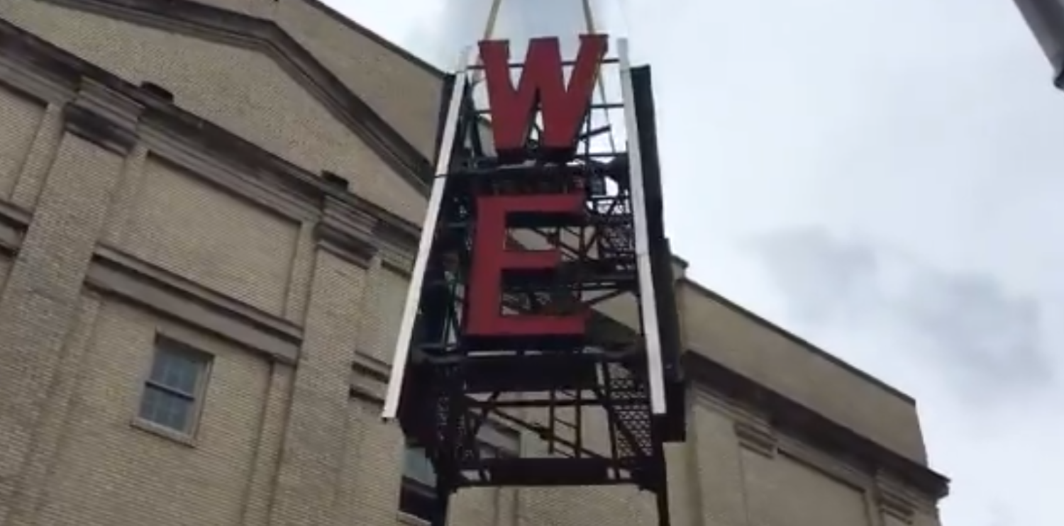 Iconic Tower Theater Sign Being Removed Over Safety Concerns
