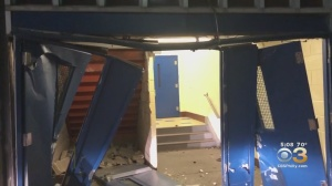 Driver Plows Into George Washington High School In Somerton