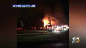 Fire Destroys Malvern Tire Shop