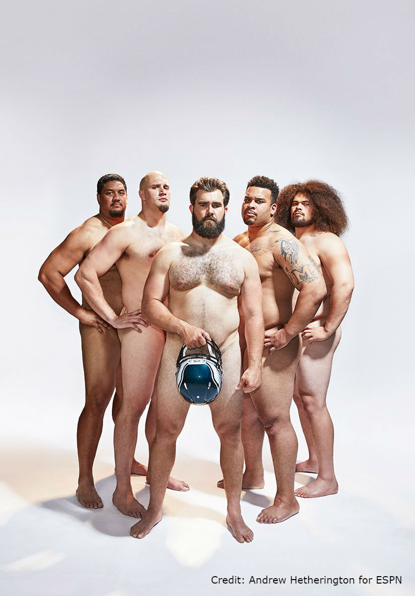 All Nude Image nude photos of eagles offensive linemen in espn the