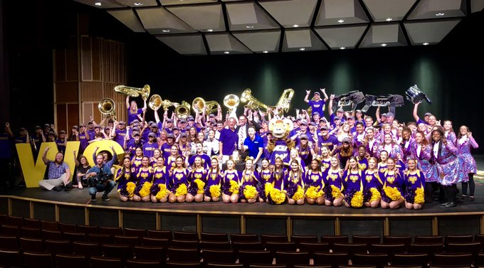 West Chester University Golden Ram's Marching Band Named Best In Country