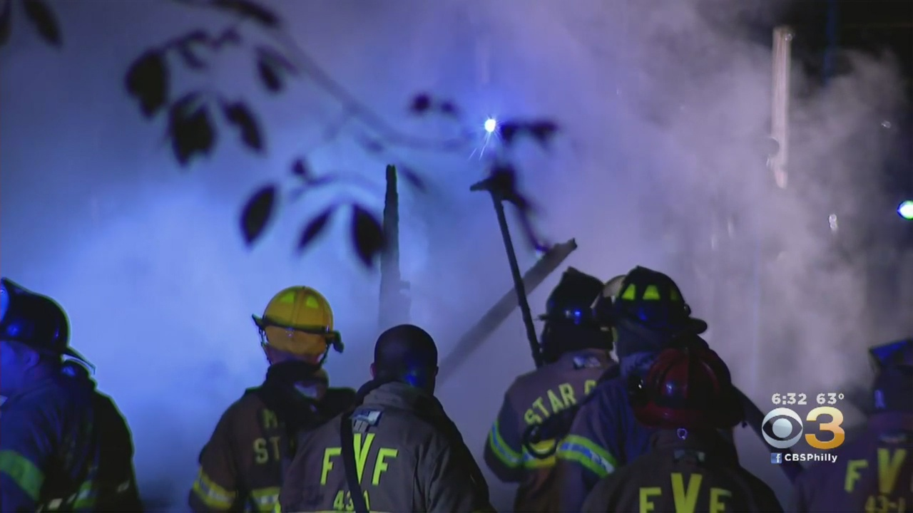 Overnight Fire Destroys Home In Gloucester County