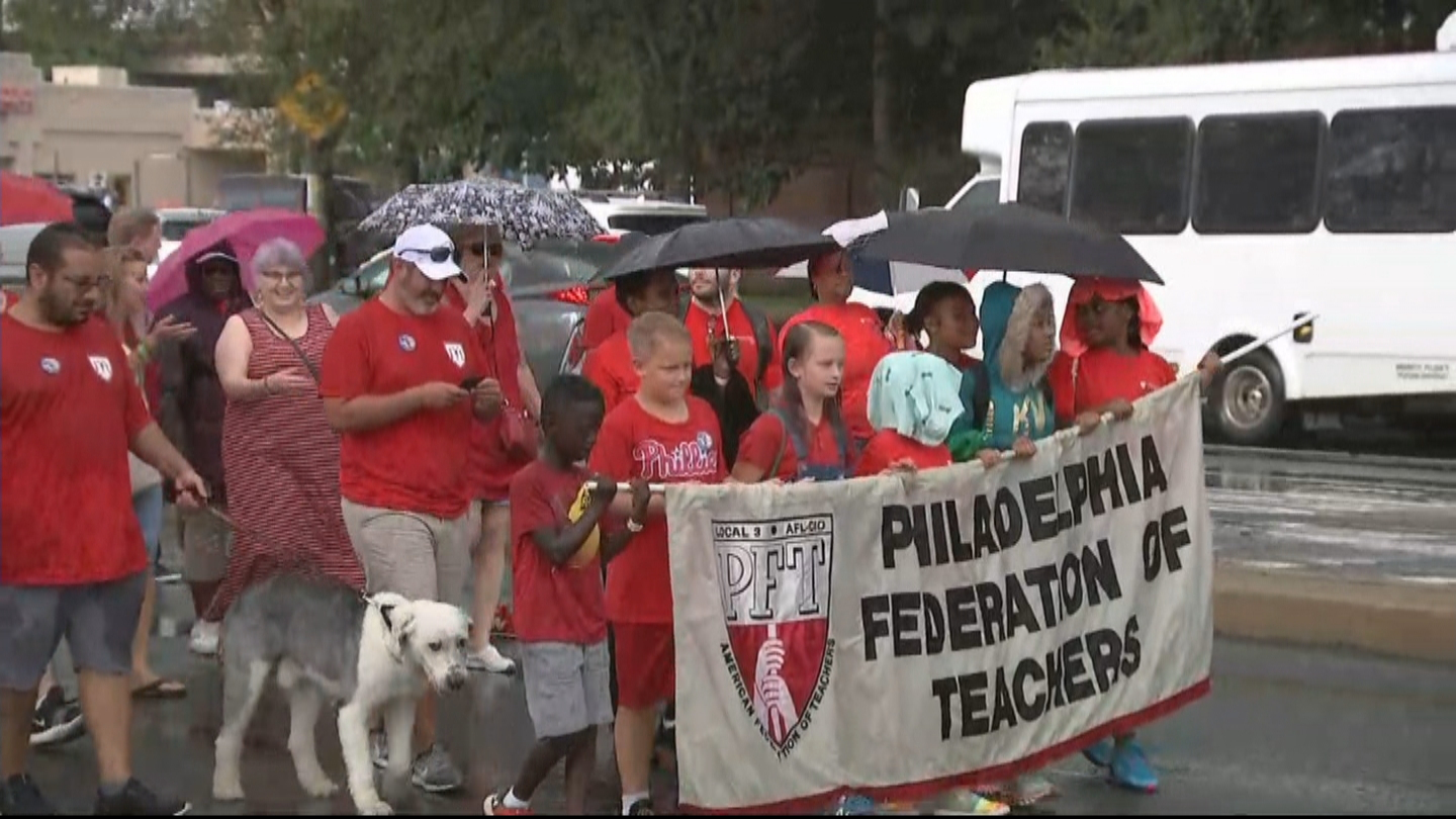 Union Members Unite In Solidarity During Philadelphia's Annual Labor Day Parade