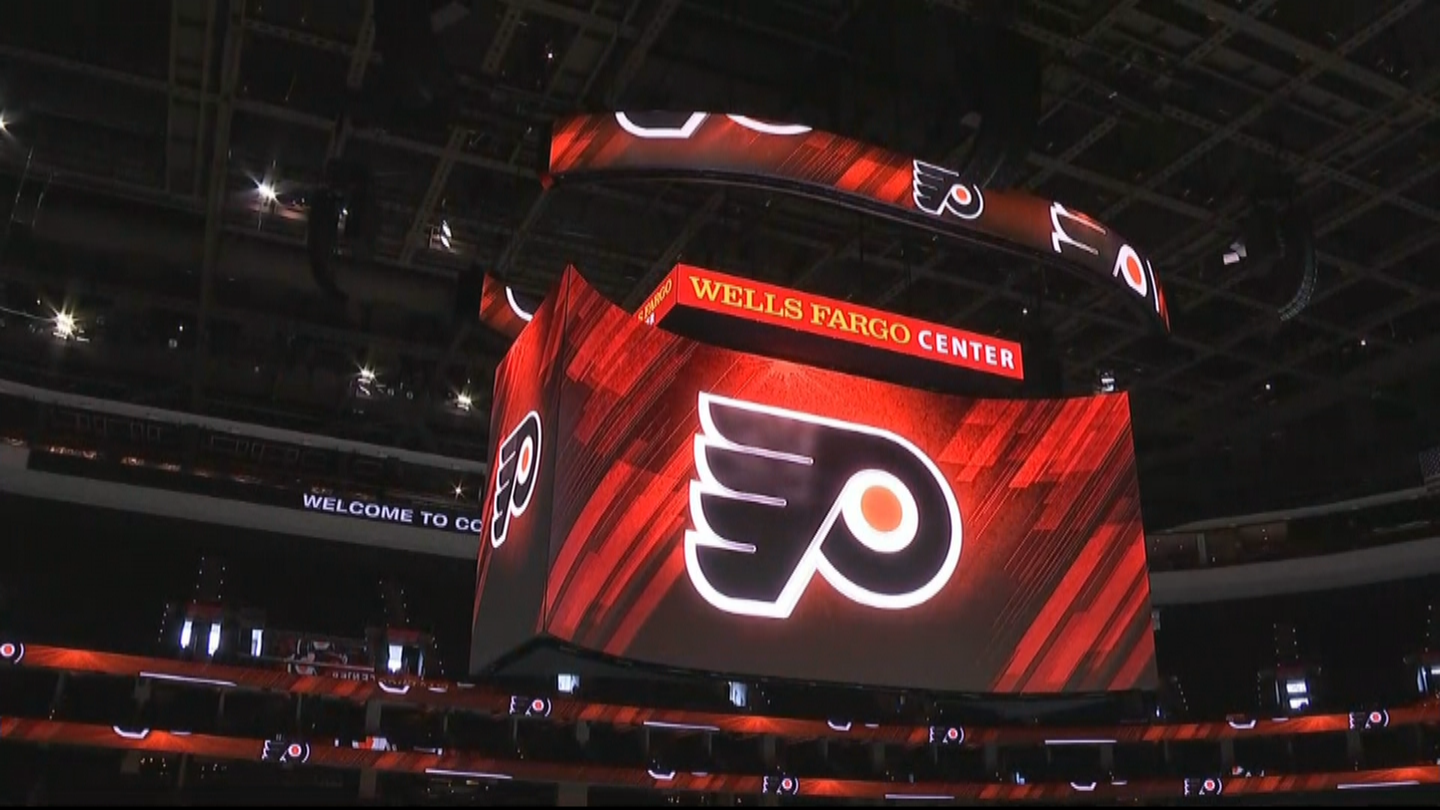 Watch First Look At Wells Fargo Center S Massive Kinetic