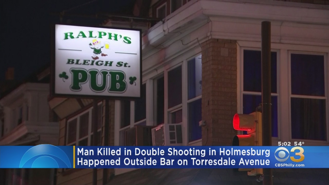 Police: Man Killed In Double Shooting Outside Holmesburg Bar