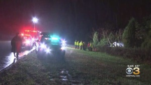 1 Dead, 1 Injured In Crash On Route 55