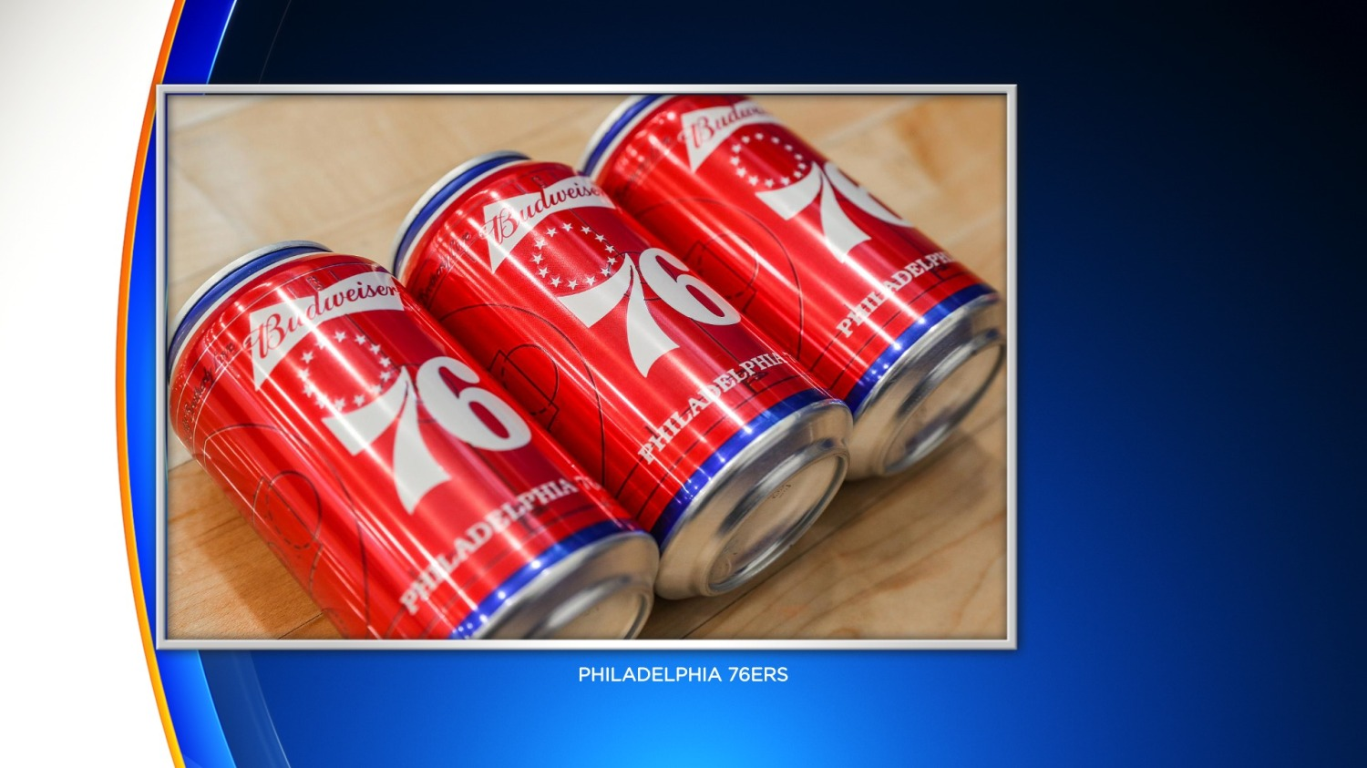 Budweiser Releases Sixers-Themed Beer Cans Ahead Of 2019-20 NBA Season